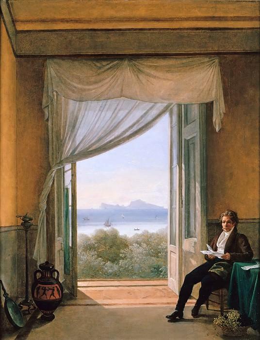 Карл Фридрих Шинкель в Неаполе. Франц Людвиг Катель