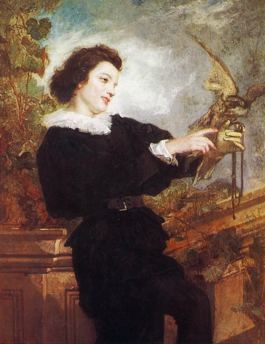 The Falconer. Thomas Couture