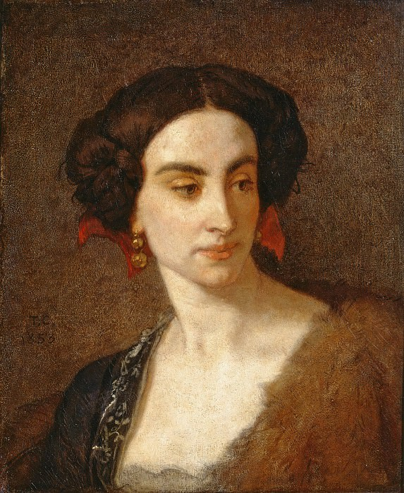Mademoiselle Poinsot. Thomas Couture