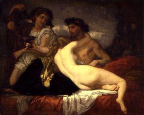 Гораций и Лидия*. Тома Кутюр