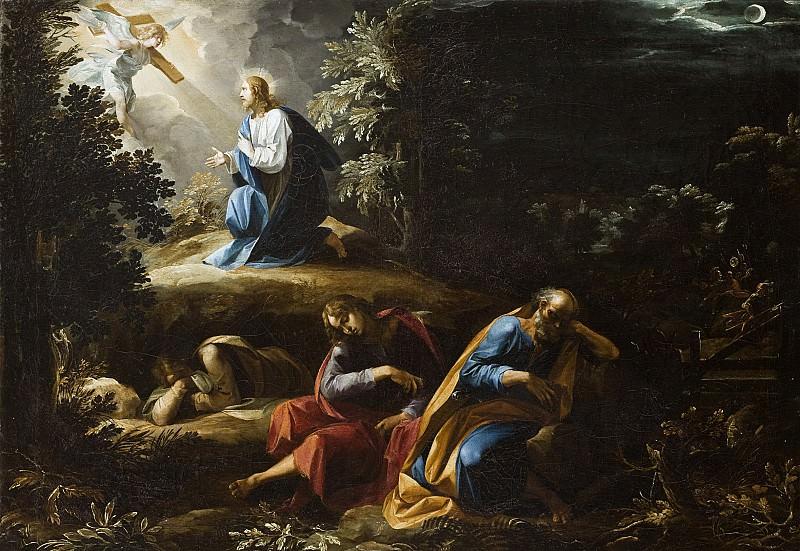 Муки Христа в Гефсиманском саду, 1597-98 (картина) — Джузеппе Чезари