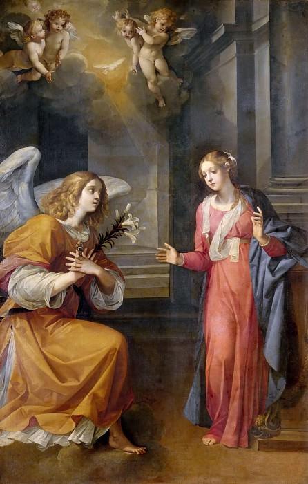 Annunciation. Giuseppe Cesari