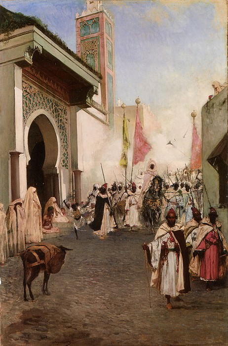 Entrance of Mohammed II. Jean Joseph Benjamin-Constant