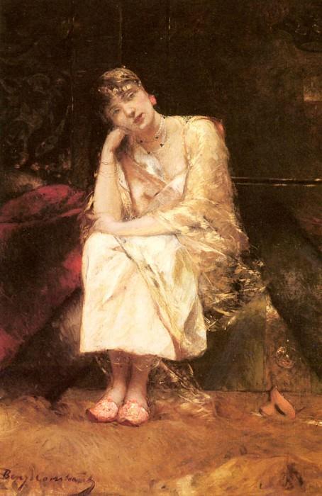 Contemplation. Jean Joseph Benjamin-Constant