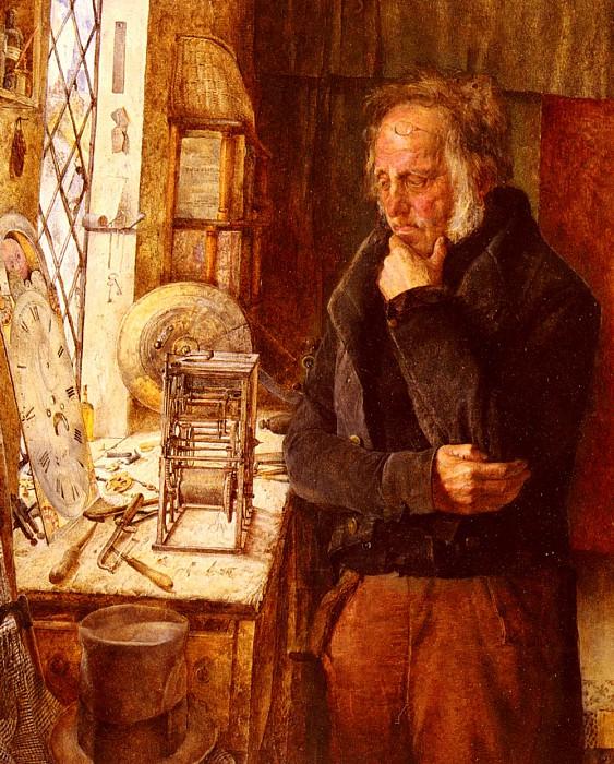 Our Village Clockmaker Solving A Problem. James Campbell