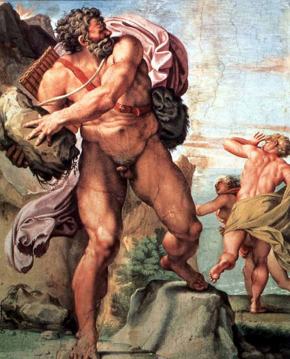 Polyphemus And The Nymph Galatea. Annibale Carracci