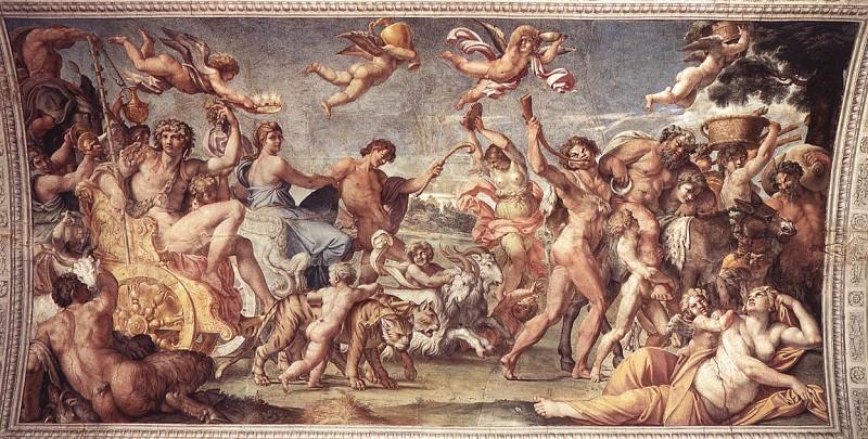 Carracci Annibale Triumph of Bacchus and Ariadne. Annibale Carracci