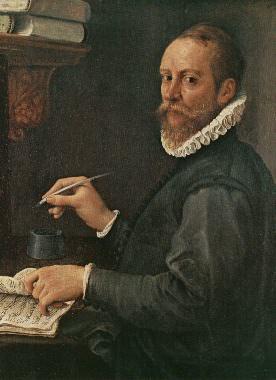 Ritratto di Claudio Merulo. Annibale Carracci