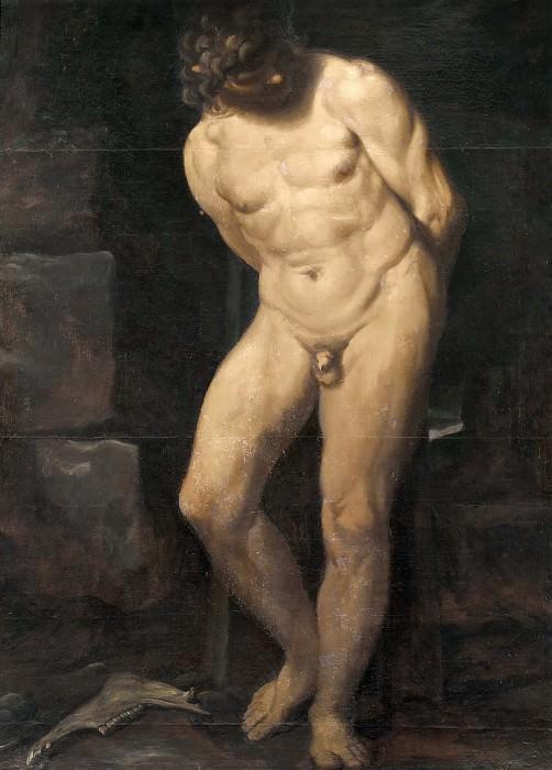Samson in Prison. Annibale Carracci