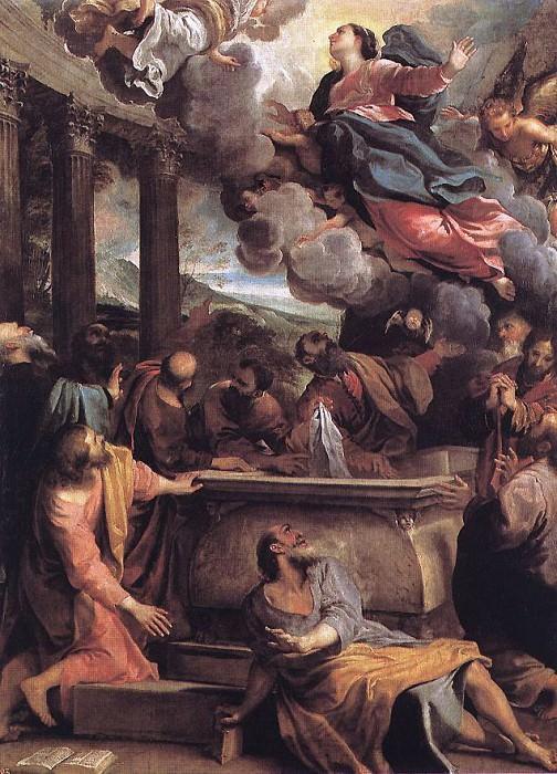 Assumption of the Virgin. Annibale Carracci