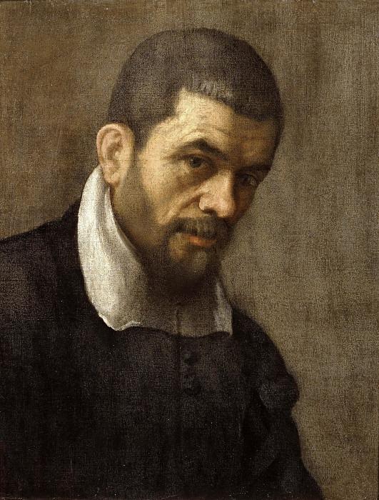 Портрет мужчины. Аннибале Карраччи (Мастерская)