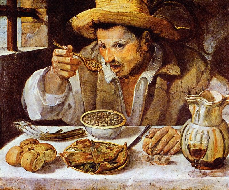 Annibale The beaneater. Annibale Carracci