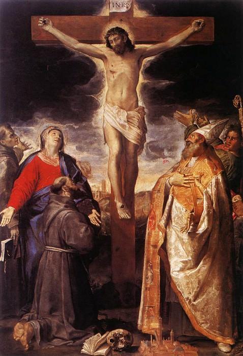 Crucifixion. Annibale Carracci