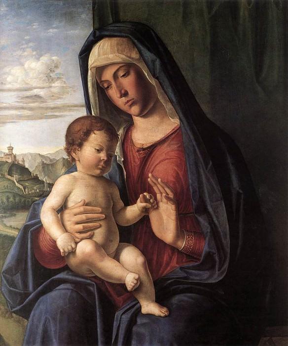 Madonna And Child. Giovanni Battista Cima da Conegliano