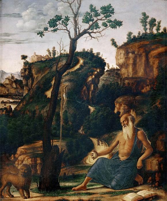 St. Jerome in the desert. Giovanni Battista Cima da Conegliano
