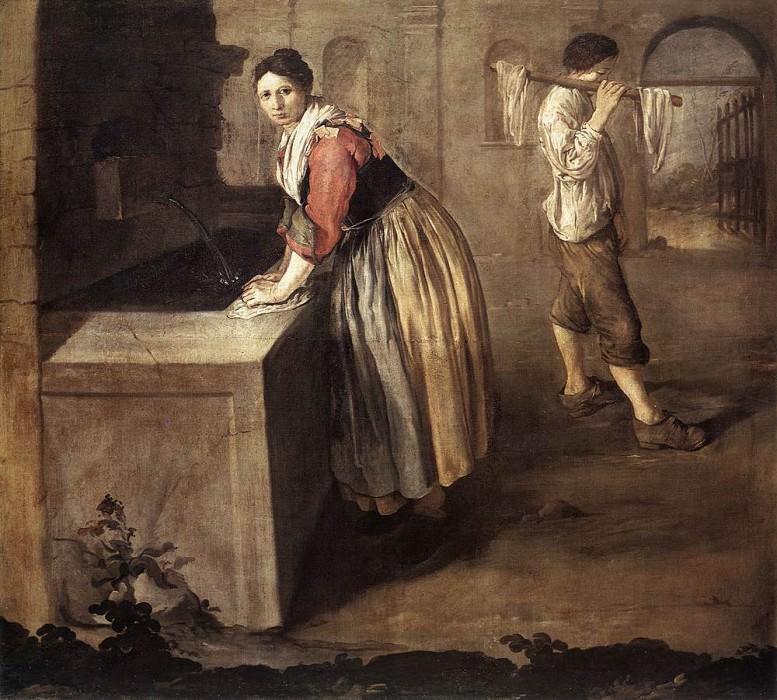 The Laundress. Giacomo Ceruti