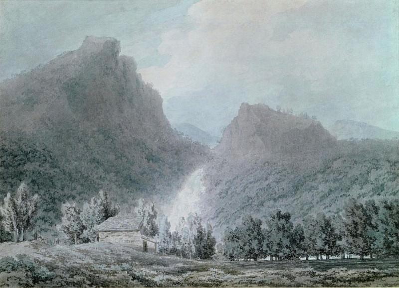 Водопад Лодоре. Джон Роберт Козенс