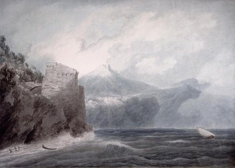 Замок Салерно рядом с Четарой. Джон Роберт Козенс