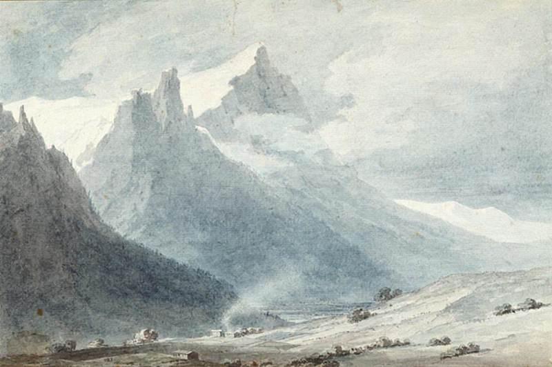 In the Canton of Unterwalden. John Robert Cozens