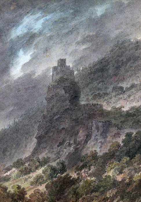View of a Schloss between Bolzano and Trent. John Robert Cozens