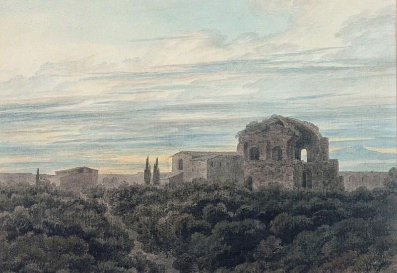 Храм Минервы Медика. Джон Роберт Козенс