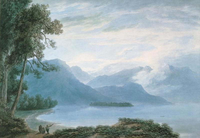 Isola Bella Lake Maggiore. John Robert Cozens