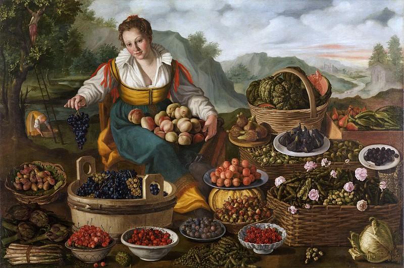 Fruit Seller. Vincenzo Campi