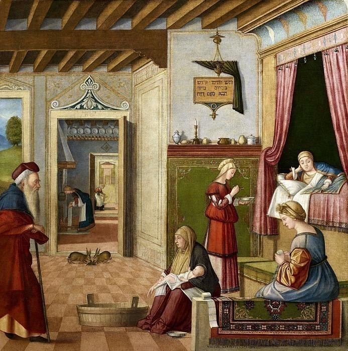 Рождество Богородицы. Витторе Карпаччо