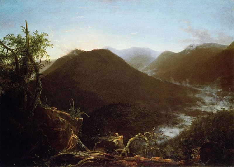 Sunrise in the Catskill Mountains. Thomas Cole