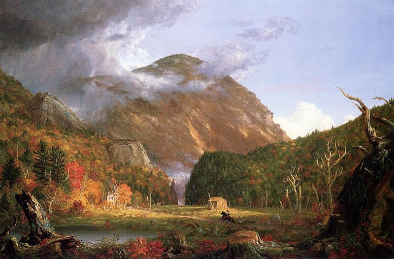 The Notch of the White Mountains (Crawford Notch). Thomas Cole
