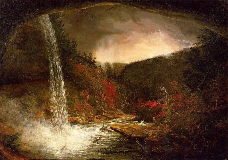 Kaaterskill Falls 1826. Thomas Cole