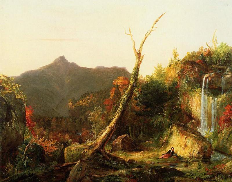 Autumn Landscape (Mount Chocorua). Thomas Cole