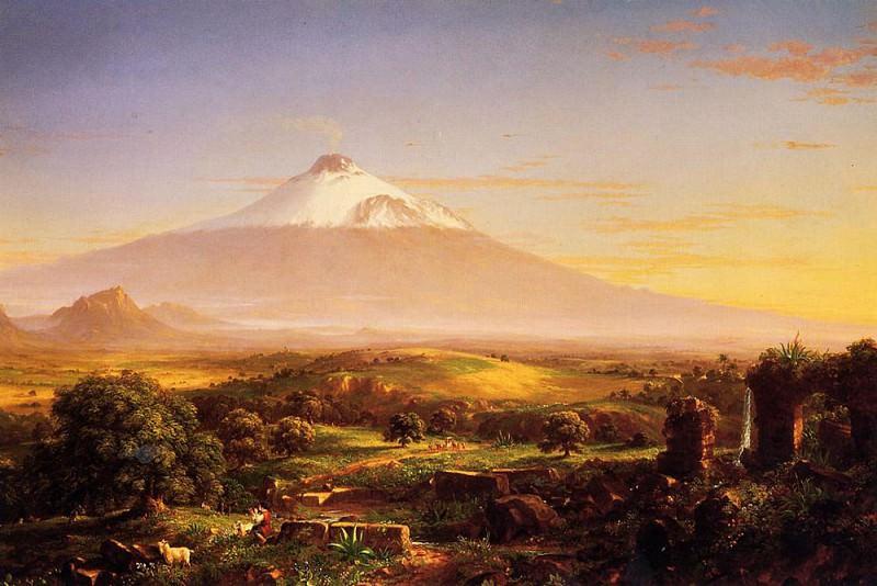 Mount Etna. Thomas Cole