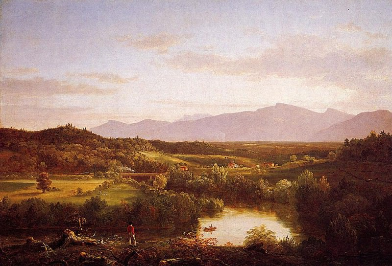 River in the Catskills. Thomas Cole