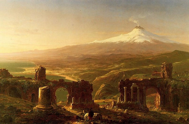 Mount Etna from Taormina. Thomas Cole