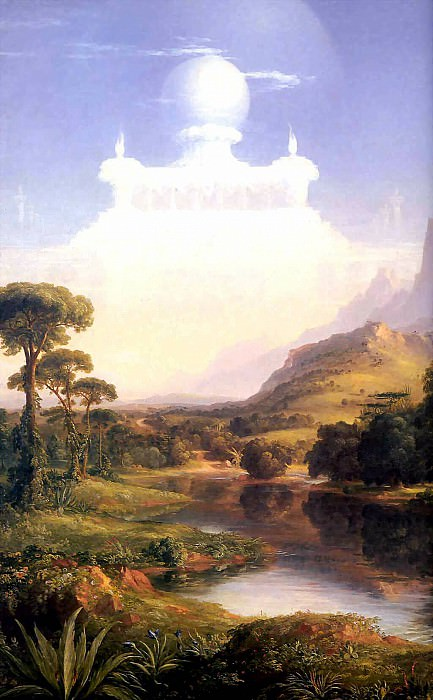 the voyage of life youth. Thomas Cole