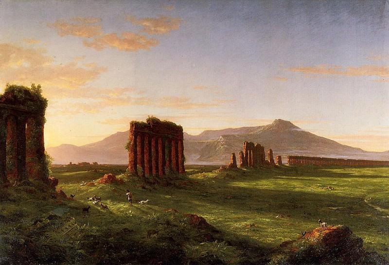 Roman Campagna. Thomas Cole
