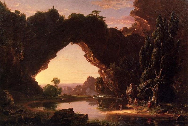 Evening in Arcady. Thomas Cole