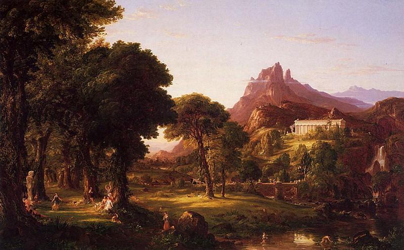 Dream of Arcadia. Thomas Cole