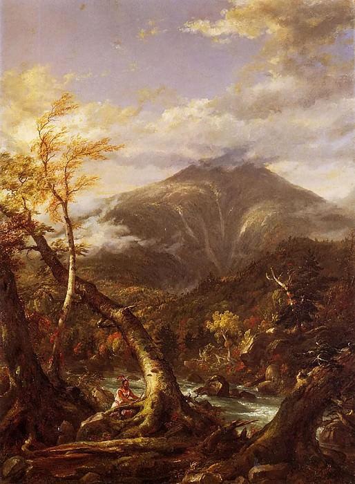 Индейский проход Тахавус. Томас Коул