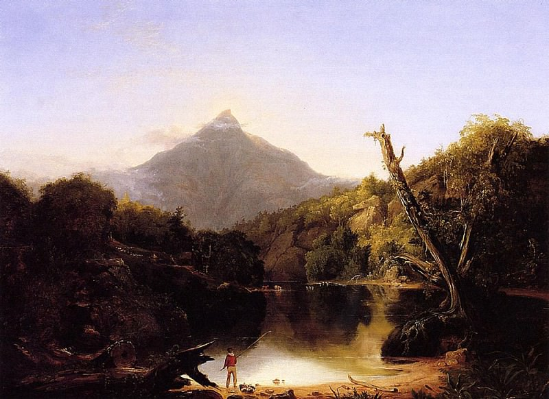 Гора Чокоруа, Нью-Гемпшир. Томас Коул
