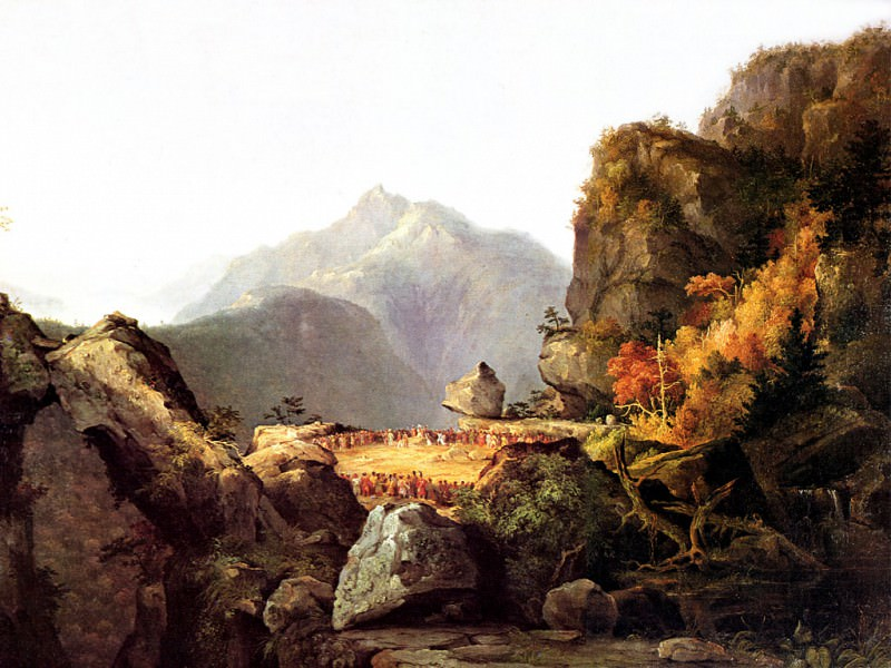 Last of the Mohicans. Thomas Cole