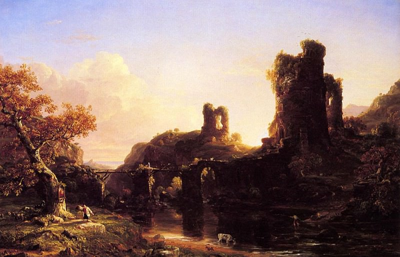 An Italian Autumn. Thomas Cole