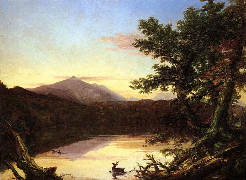 Schroon Lake. Thomas Cole