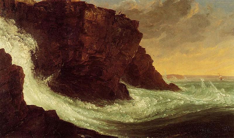 Frenchman-s Bay Mt. Desert Island. Thomas Cole