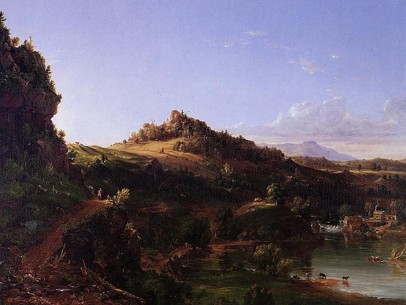 Catskill Scenery. Thomas Cole
