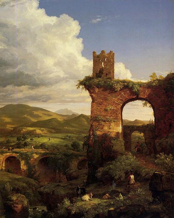 Arch of Nero. Thomas Cole