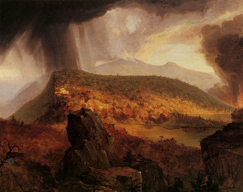 Catskill Mountain House The Four Elements. Thomas Cole