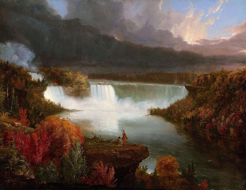Ниагарский водопад. Томас Коул