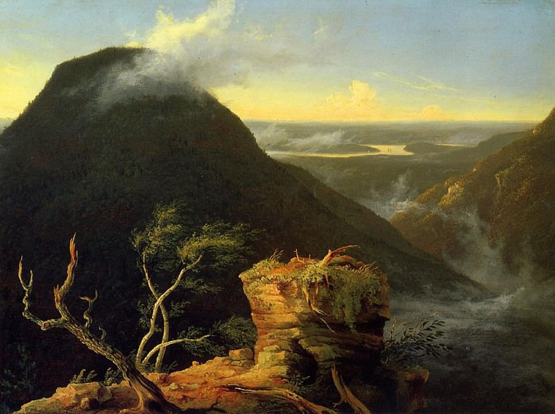 Sunny Morning on the Hudson River. Thomas Cole